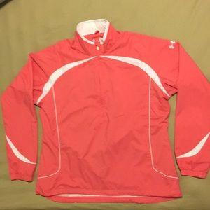 Under Armour 1/2 Zip Pullover Jacket Wind Breaker